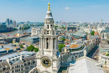 London Skyline St. Pauls Cathedral